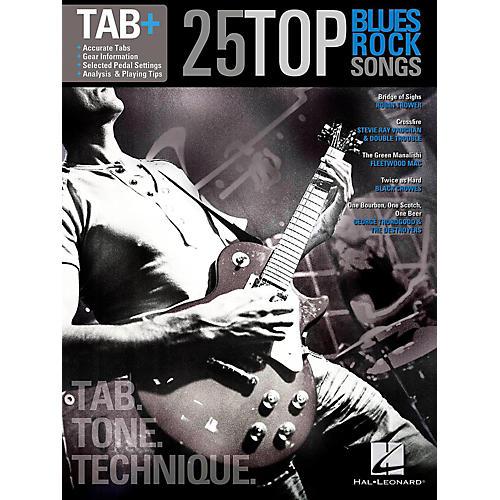 Hal Leonard 25 Top Blues/Rock Songs - Tab Tone & Technique (Tab+)-thumbnail