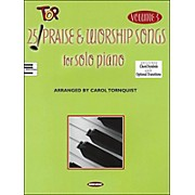 Word Music 25 Top Praise & Worship Songs for Solo Piano Vol 3