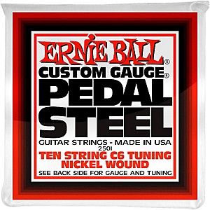 Ernie Ball 2501 10 String C6 Pedal Steel Guitar Strings