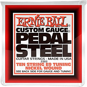 Ernie Ball 2502 10 String E9 Pedal Steel Guitar Strings