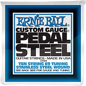 Ernie Ball 2504 10 String E9 Pedal Steel Guitar Strings
