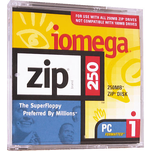 Iomega 250MB Zip Cartridge