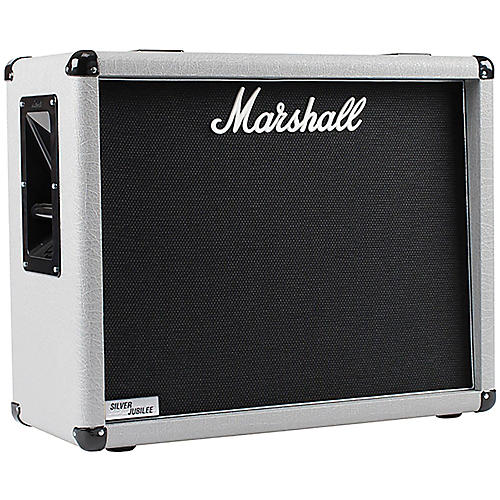 Marshall 2536 140W 2x12 Silver Jubilee Guitar Amplifier Cabinet-thumbnail