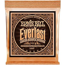 Ernie Ball 2548 Everlast Phosphor Light Acoustic Guitar Strings