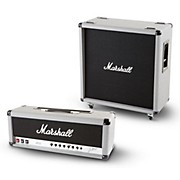 Marshall 2555X Silver Jubilee 100 W Half Stack with Straight 4x12 Cabinet