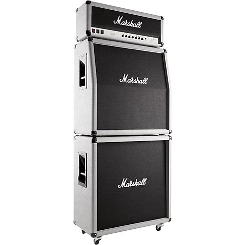 Marshall 2555X Silver Jubilee Reissue 100W Tube Guitar Amplifier Full Stack-thumbnail