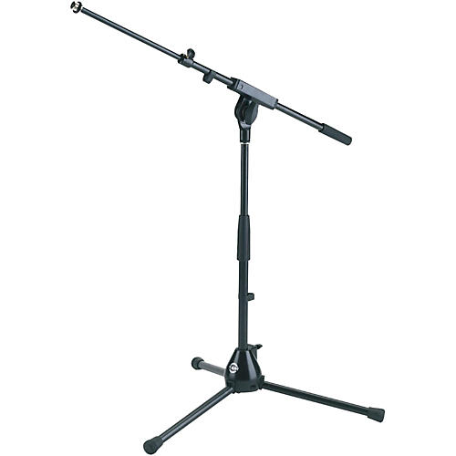 K&M 25900.500.55 Medium Height Tripod Mic Stand with Adjustable Boom-thumbnail