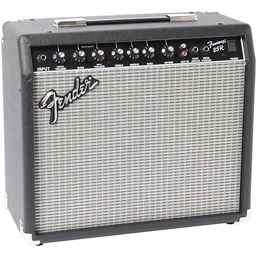 Fender 25R Frontman Series II 25W 1x10 Guitar Combo Amp Black