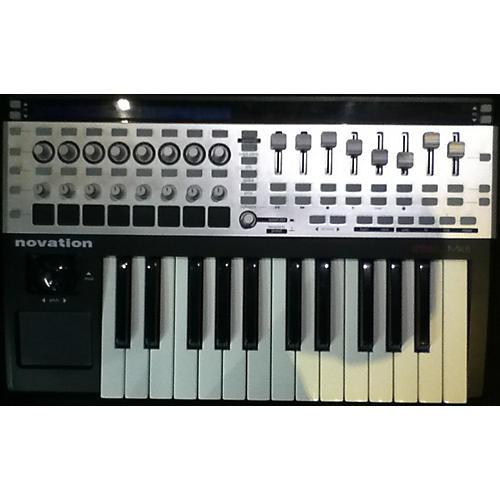 Novation 25SL MKII Black And Silver MIDI Controller-thumbnail