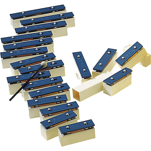 Sonor 26-Bar Chime Bar Set with 4 Spacers-thumbnail