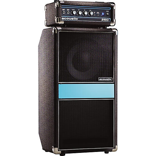 Acoustic 260 100W 1x10 Bass Mini Stack Black