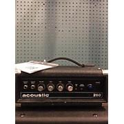 Acoustic 260 Bass Amp Head