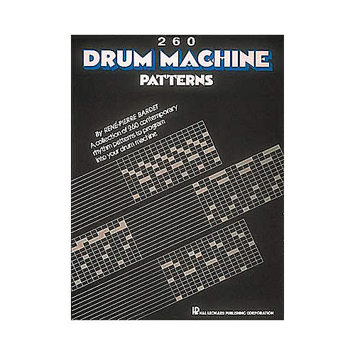 Hal Leonard 260 Drum Machine Patterns-thumbnail