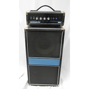Pre-owned Acoustic 260H 1x10 100 Watt Mini Bass Stack by Acoustic