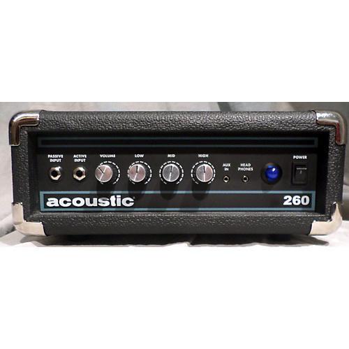 used acoustic 260h bass amp head guitar center. Black Bedroom Furniture Sets. Home Design Ideas
