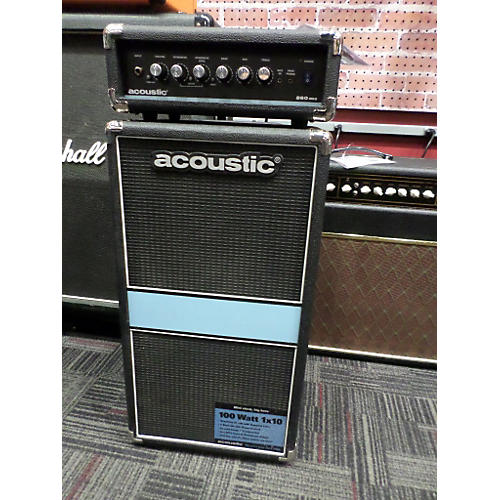 Acoustic 260mkII 1x10 Bass Mini-stack