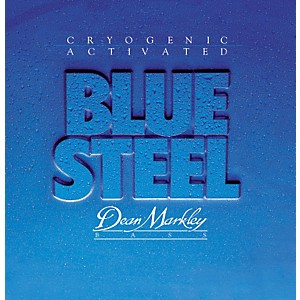 Dean Markley 2676 Blue Steel Cryogenic Medium Bass Strings by Dean Markley