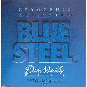 Dean Markley 2679 Blue Steel Medium/Long 5 String Bass Strings by Dean Markley