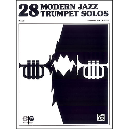 Alfred 28 Modern Jazz Trumpet Solos Book 2-thumbnail