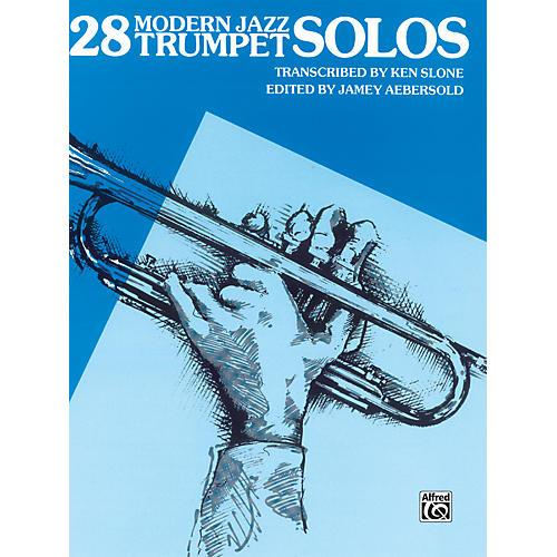 Alfred 28 Modern Jazz Trumpet Solos Book