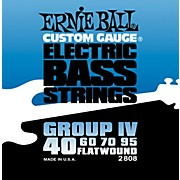 Ernie Ball 2808 Flat Wound Group IV Electric Bass Strings