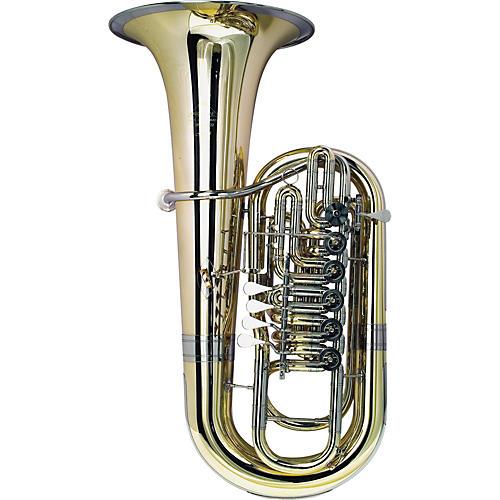 Miraphone 281 Firebird Series 6-Valve 5/4 F Tuba 281 Yellow Brass-thumbnail