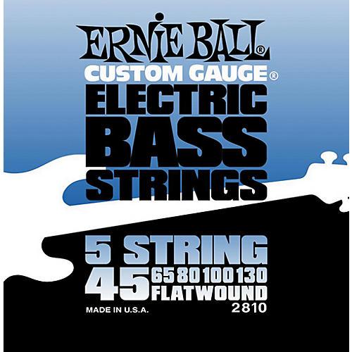 Ernie Ball 2810 Flatwound 5-String Bass Strings Set-thumbnail