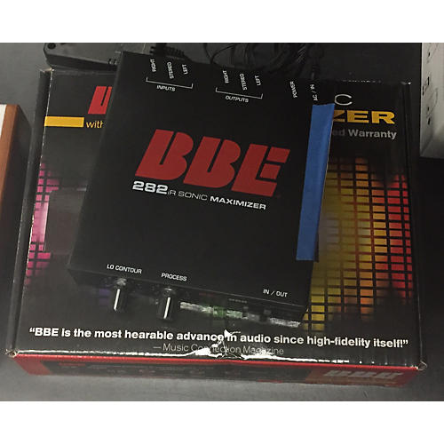 BBE 282iR Desktop Sonic Maximizer With Unbalanced RCA And 3.5mm Connections Exciter-thumbnail