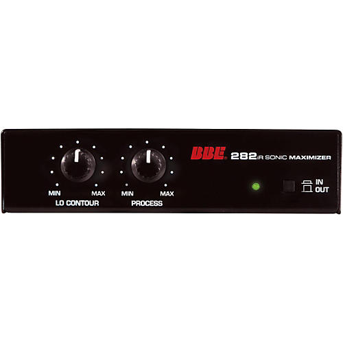 BBE 282iR Desktop Sonic Maximizer with Unbalanced RCA and 3.5mm Connections