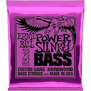 Ernie Ball 2831 Slinky Round Wound Power Bass Strings