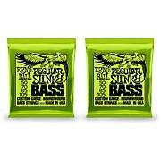 2832 Regular Slinky Round Wound Bass Strings 2 Pack