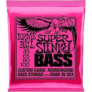 Ernie Ball 2834 Super Slinky Roundwound Bass Strings