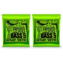 Ernie Ball 2836 Regular Slinky 5-String Bass Strings 2 Pack
