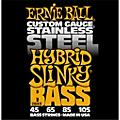 Ernie Ball 2843 Hybrid Slinky Stainless Steel Bass Strings thumbnail