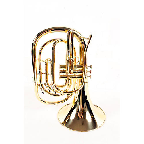 Kanstul 285 Series Marching Bb French Horn 285-1 Lacquer 888365008363