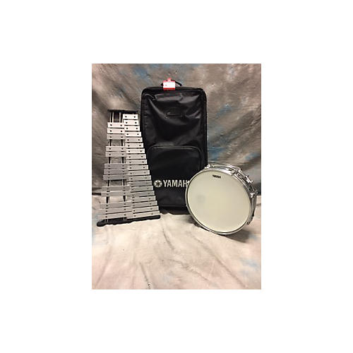Used yamaha 285 series mini snare and bell kit with for Yamaha bell kit