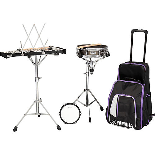Yamaha 285 Series Mini Snare and Bell Kit with Backpack and Rolling Cart-thumbnail