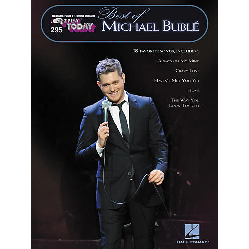 Hal Leonard 295 Best Of Michael Buble - E-Z Play Today Songbook-thumbnail