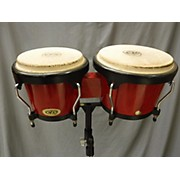LP 2X10 Cosmic Percussion Bongo Set W/stand Bongos