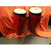 LP 2X10 Cosmic Percussion Conga Set W/stand Conga
