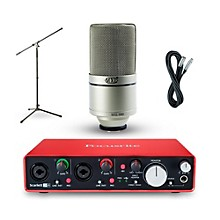 Focusrite 2i4 Recording Bundle with MXL 990 Mic