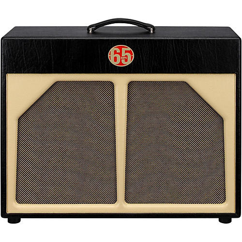 65amps 2x12 Guitar Speaker Cabinet - Red Line-thumbnail