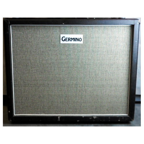 2x12 Over Sized Closed Back Black Guitar Cabinet