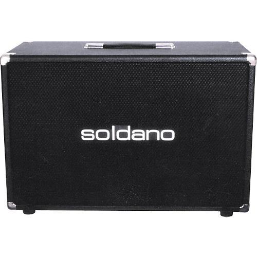 Soldano 2x12 Speaker Cabinet Black