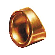 "Peaceland Guitar Ring 3/4"" Brass Guitar Ring Slide"