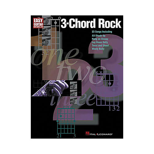 Hal Leonard 3-Chord Rock Book