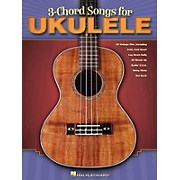 Hal Leonard 3-Chord Songs For Ukulele Songbook