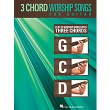 Hal Leonard 3-Chord Worship Songs for Guitar Guitar Collection Series Softcover