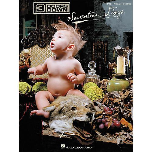 Hal Leonard 3 Doors Down - Seventeen Days Piano, Vocal, Guitar Songbook