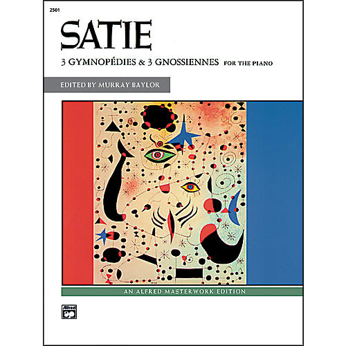 Alfred 3 Gymnopdies & 3 Gnossiennes Book-thumbnail